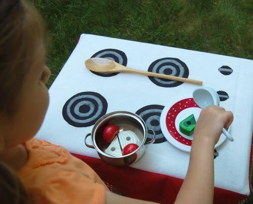 diy: travel play kitchen set - inner child fun