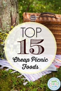 Top 15 Cheap Picnic Foods