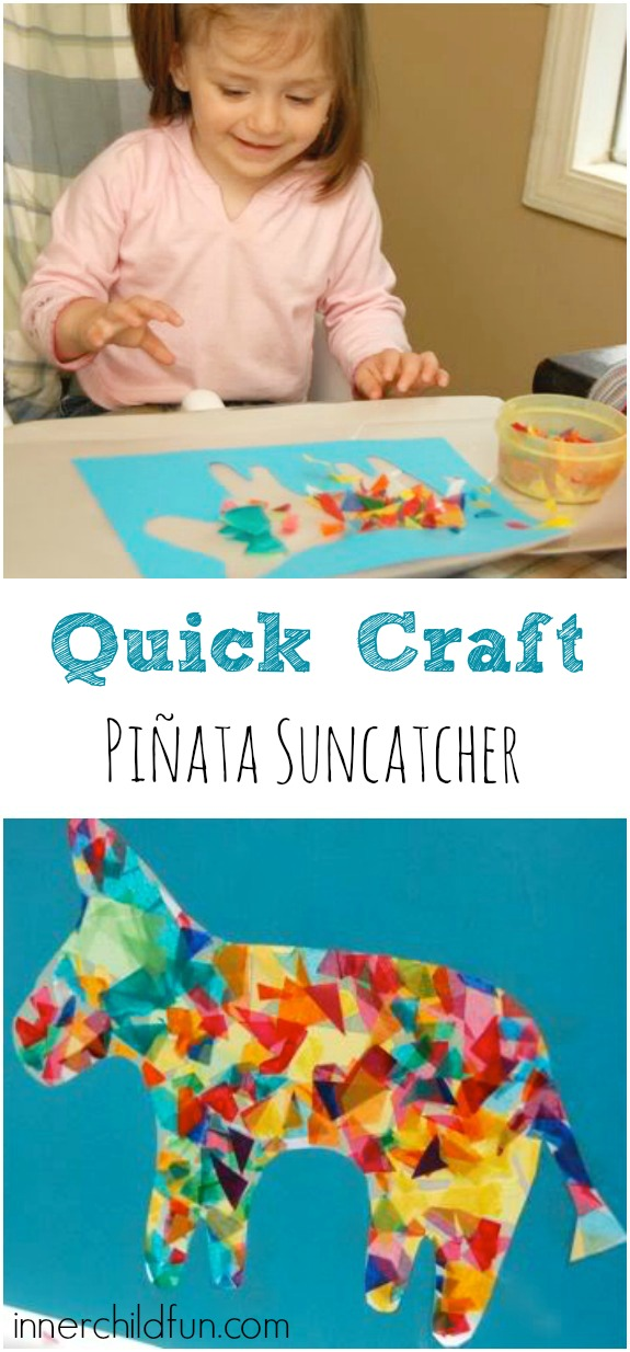 Quick Craft - Piñata Suncatcher