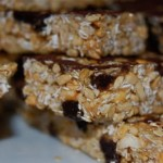 Homemade Chewy Granola Bars and Sledding Fun