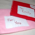 Fun with Felt – Play Valentine Mail Set