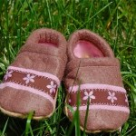 Fun with Felt — Baby Booties