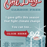 Frugal Gift Idea — One Day Carbon Free