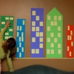 Easy City Scape Mural