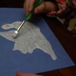 Peace Dove Handprints
