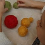 Handmade Holidays — Easy Felted Ornaments