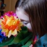 Tissue Paper Bouquet