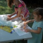 Painting…. with Ice Cubes!