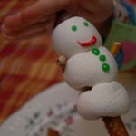 Cute Marshmallow Snowman