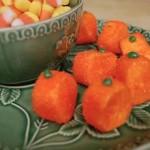 Super Easy Marshmallow Pumpkins