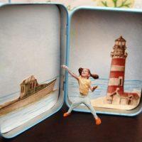 Mini Paper Doll Travel Set