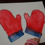 Low-Mess Mittens Painting