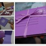 Handmade Holidays — Snowflake Notecard Mailers