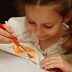Painted Orange Slices