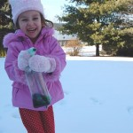 Frugal Fun Outdoors – Snow Painting