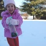 Weekend Rewind — Paint the Snow!