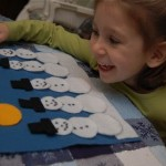 5 Little Snowmen Play Set