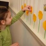 Easy Spring Mural
