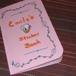 DIY: Sticker Book