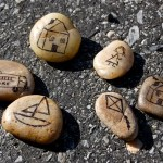 Story Stones and Sidewalk Scenes