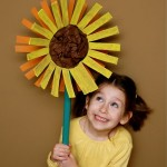 Crafting with Recyclables – Giant Sunflower