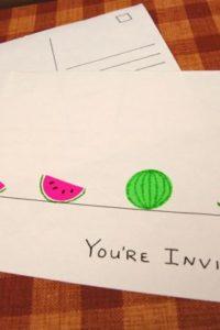 DIY: Summer Party Invites