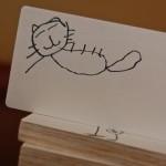 Kid-Made Wooden Word Blocks