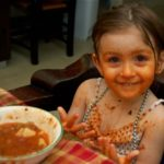 Sunday Snapshot — Clara vs. Minestrone Soup