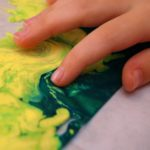 No Mess Marbled Painting