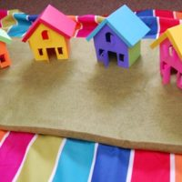 Rainbow Village Printable
