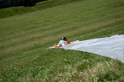 DIY Slip N Slide - Genius! - Bob Vila