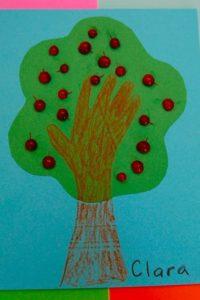3-D Apple Tree