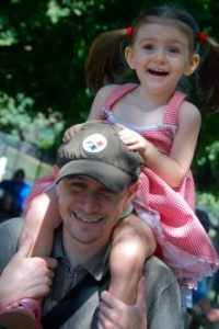Sunday Snapshot — At the Zoo (with Daddy)