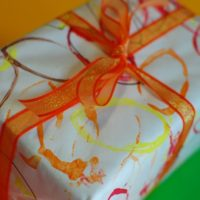 Falling Leaves Wrapping Paper