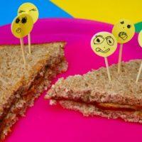 Smiley Sandwich Picks!