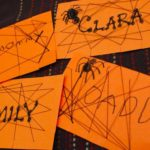 Spider Web Place Cards