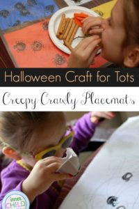 Creepy Crawly Placemats