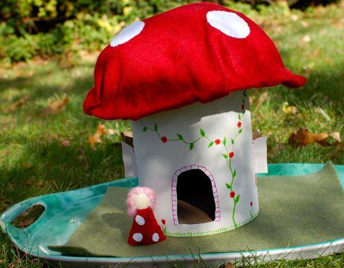 Lil Mushroom House Inner Child Fun