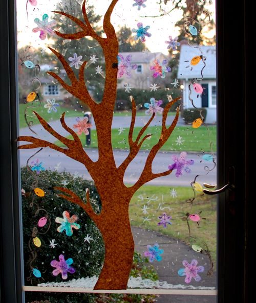 Winter Window Display Inner Child Fun
