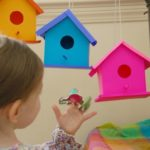 Printable Bird House Play Set