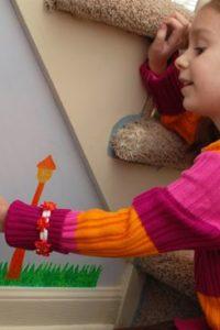 DIY: Fabric Wall Decals