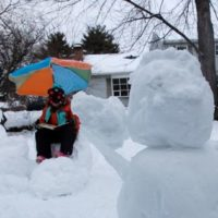 Sunday Snapshot — Snowy Story Time
