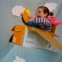 Sunday Snapshot – Imagination Takes Flight