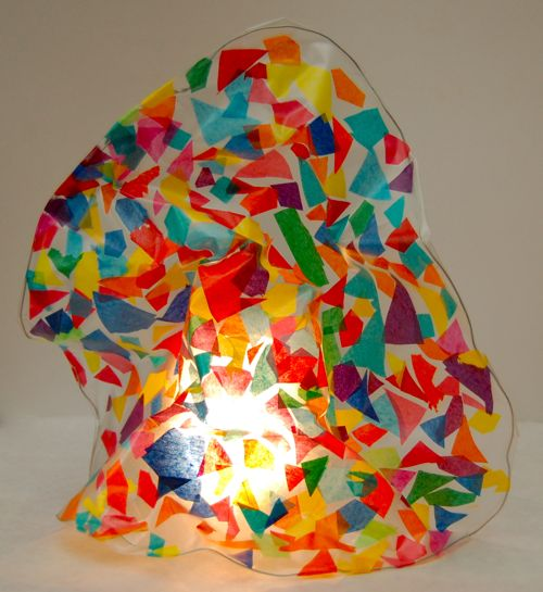Favorite modern art crafts for kids inner child fun for Glass art projects