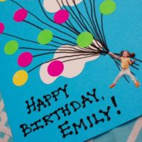 Easy Balloon Birthday Card