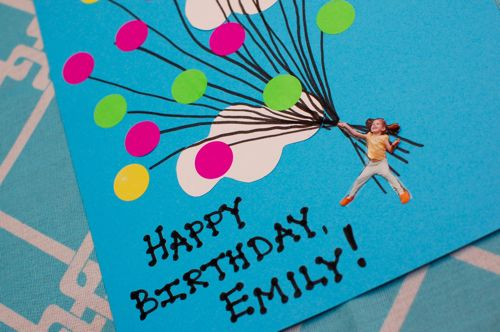 Easy Balloon Birthday Card Inner Child Fun