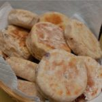 Homemade Sourdough English Muffins