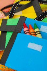 Mini Crayon Wallet