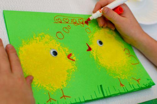 Spring Chick Card Inner Child Fun