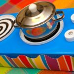 DIY Pretend Play Cooktop from Recyclables